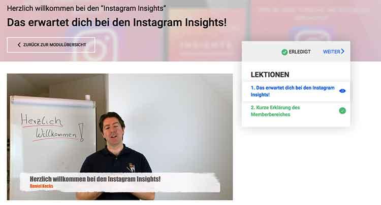 Daniel Kocks instagram insights: Ein Einblick